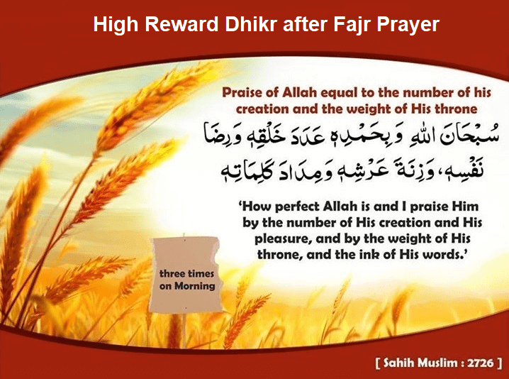 Best Dhikr after Fajr Prayer | Duas Revival | Mercy of Allah