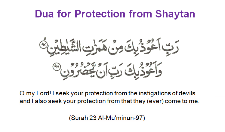 Dua For Protection From Waswasa